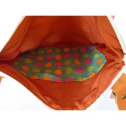 intérieur coton couleur avec 2 poches