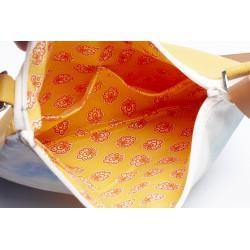 intérieur tissu imprimé 2 poches