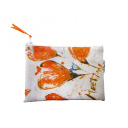 "trousse orange ""meeting II orange"""