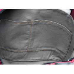 intérieur coton 2 poches
