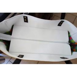 sac de plage fermeture zip