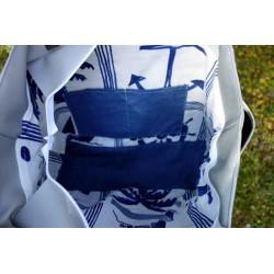 intérieur - zip - 2 grandes poches