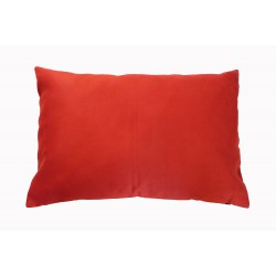 coussin dos rouge