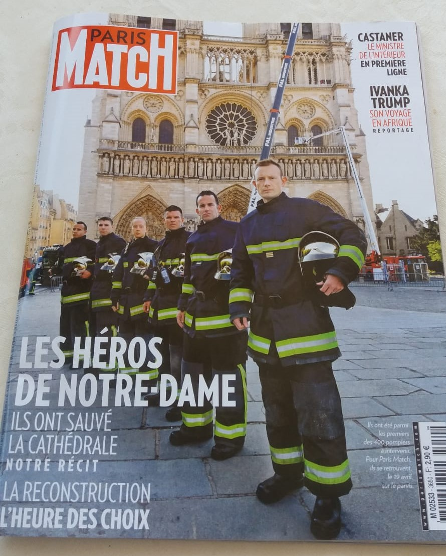 PARIS MATCH 25 avril 19